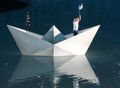 Mơ thấy chiêm bao paper boat Chiêm bao thấy thuyền